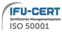 Logo Zertifikat nach ISO 50001